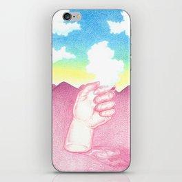 La Main et le Nuage iPhone Skin
