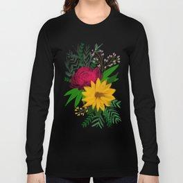 Floral Bouquet Long Sleeve T-shirt