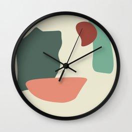 Shape study #4 Wall Clock