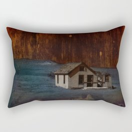 The Surface of Solitude-Hardship Rectangular Pillow