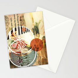 MUSICAL SEASONS. CLIPPINGS UNTITLED (series) Stationery Cards