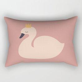 Princess Swan Rectangular Pillow