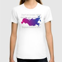 bisexual T-shirts featuring Boycott Sochi - Bisexual Flag Gradient by Boycott Sochi