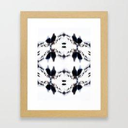 Crystal Birds Framed Art Print