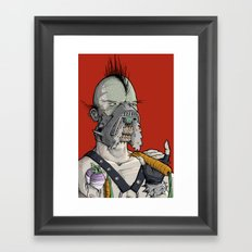 Vegetarian the Destroyer! Framed Art Print