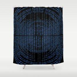 Binary Code Shower Curtain