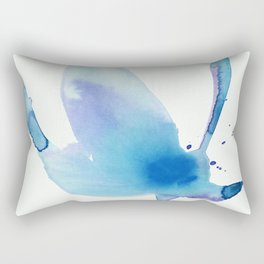 Organic Reflections No.19H by Kathy Morton Stanion Rectangular Pillow