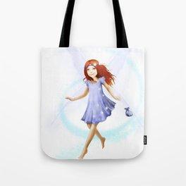 Please Little Fairy, Come Visit Me Tote Bag