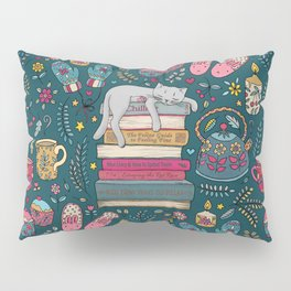 How to Hygge Like a Cat Pillow Sham
