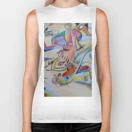 inspiration from Kandinsky . illustration . Biker Tank