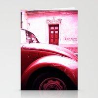 vw Stationery Cards featuring VW Kaefer by Julia Aufschnaiter