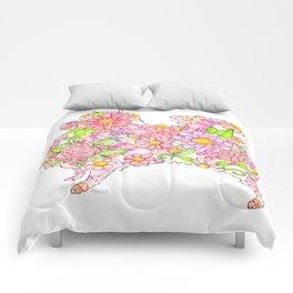 Pink Pomeranian Comforters