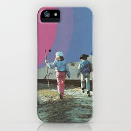 Neighboring Planets iPhone Case
