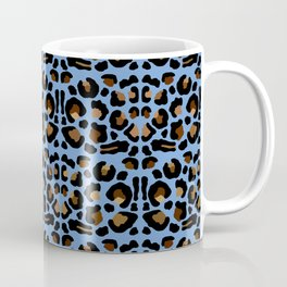 Animal Print Light Blue Coffee Mug