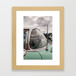 Vintage Car 3 Framed Art Print