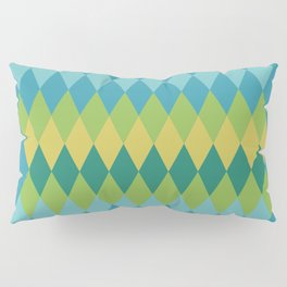 Exotic vintage geometrics Pillow Sham
