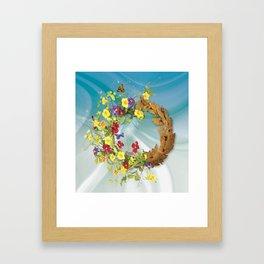 Life or oblivion Framed Art Print