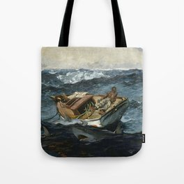 The Gulf Stream By Winslow Homer 1899 Tote Bag