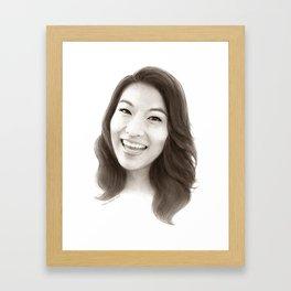 Arden Cho (Kira Yukimura) Framed Art Print