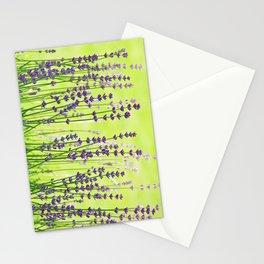 #Lavender #green #violett #Pattern Stationery Cards