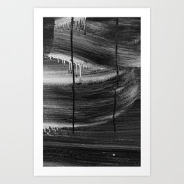 Emotional Streaks Art Print