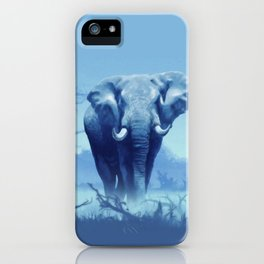 Misty Morning in the Tsavo iPhone Case