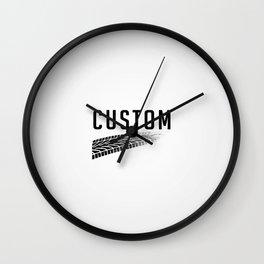 Custom Art Wall Clock
