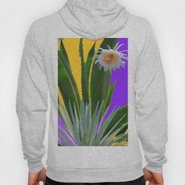 PURPLE DESERT CACTI & FLOWERS Hoody