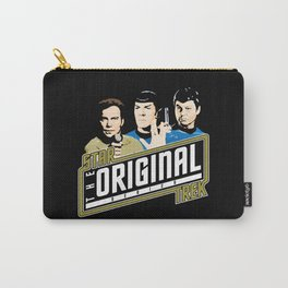 Star Trek TOS Trio Carry-All Pouch