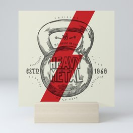 Heavy Metal Mini Art Print