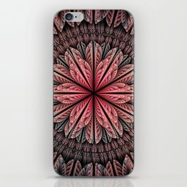 Fantasy flower and petals iPhone Skin