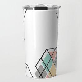 LessDanThree Brand Identity Travel Mug