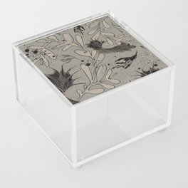 Lost. It's where she feels at ease. Acrylic Box