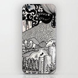 Octo City iPhone Skin