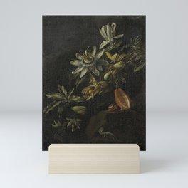 Still Life with Passionflowers - Elias van den Broeck (1670 - 1708) Mini Art Print