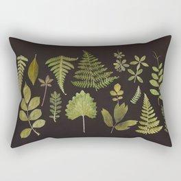 Plants + Leaves 5 Rectangular Pillow