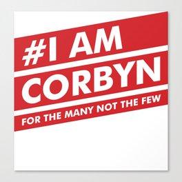 I Am Corbyn Canvas Print
