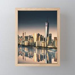 world trade center Framed Mini Art Print