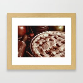 Apple Pie Reday for the Oven Framed Art Print