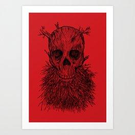 The Lumbermancer Art Print