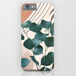 Eucalyptus Glam #1 #tropical #wall #decor #art #society6 iPhone Case