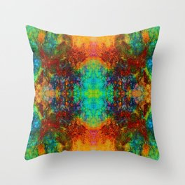 Michler's Table Patina G_2448 Throw Pillow