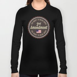 Second Amendment Long Sleeve T-shirt