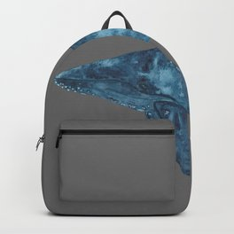 Whale Watercolor Backpack