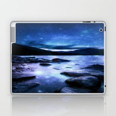 Magical Mountain Lake Blue Laptop & iPad Skin