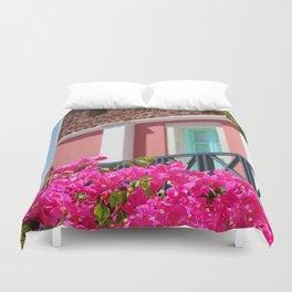 Lovely Santorini Duvet Cover