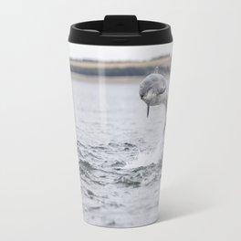 Wild bottlenose dolphin tursiops truncatus Travel Mug