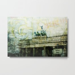 berlin collage Metal Print