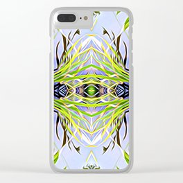 Center of Balance Clear iPhone Case