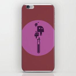 Poison Skull iPhone Skin